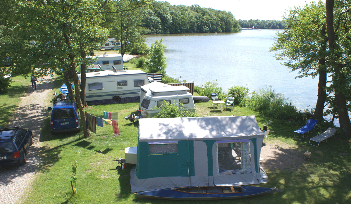 Naturcamping Spitzenort am Plöner See