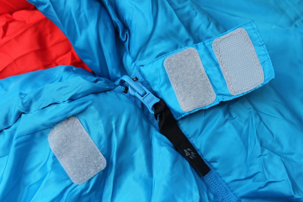 Schlafsack Kind: Wichtig ist der Reißverschluss - Einklemmschutz bei Kinderschlafsäcke