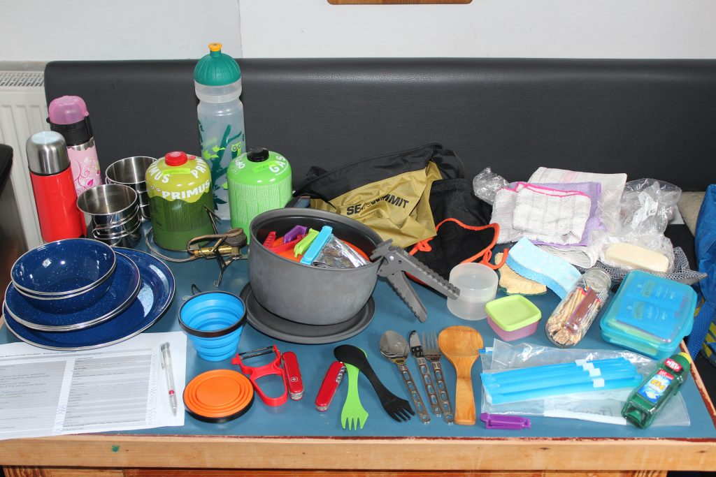 Packlisten Campingküche