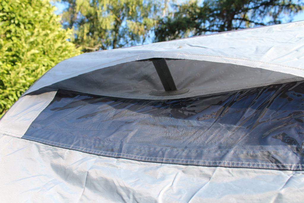 Lüftung beim Zelt