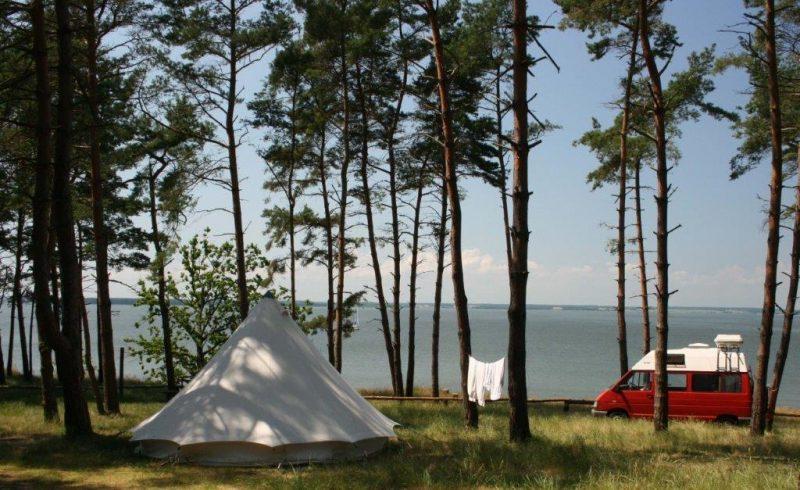 Natur Camping Usedom am Achterwasser