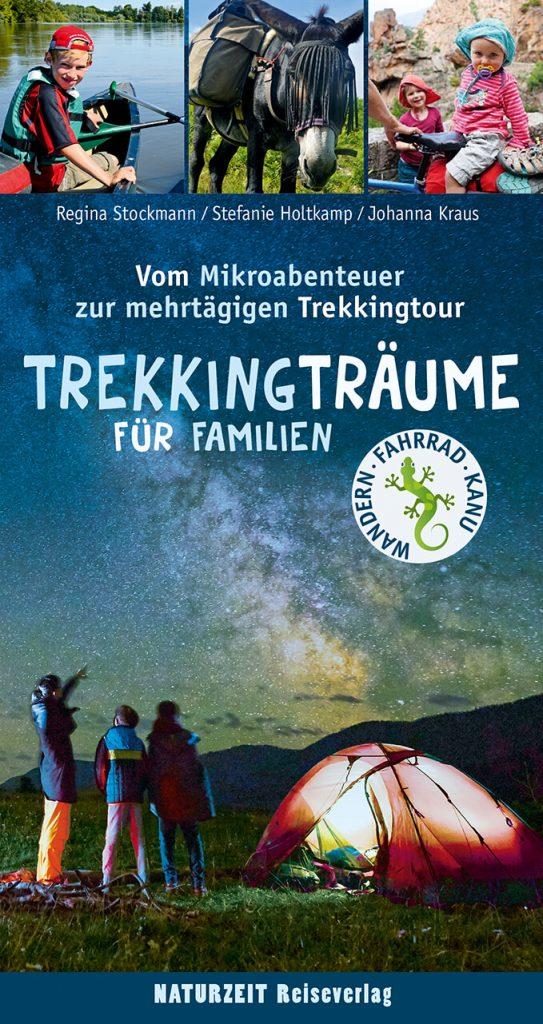 Buchcover: Tekkingträume für Famiien