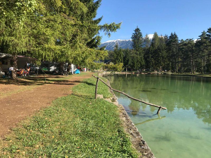 Camping Šobec in Lesce