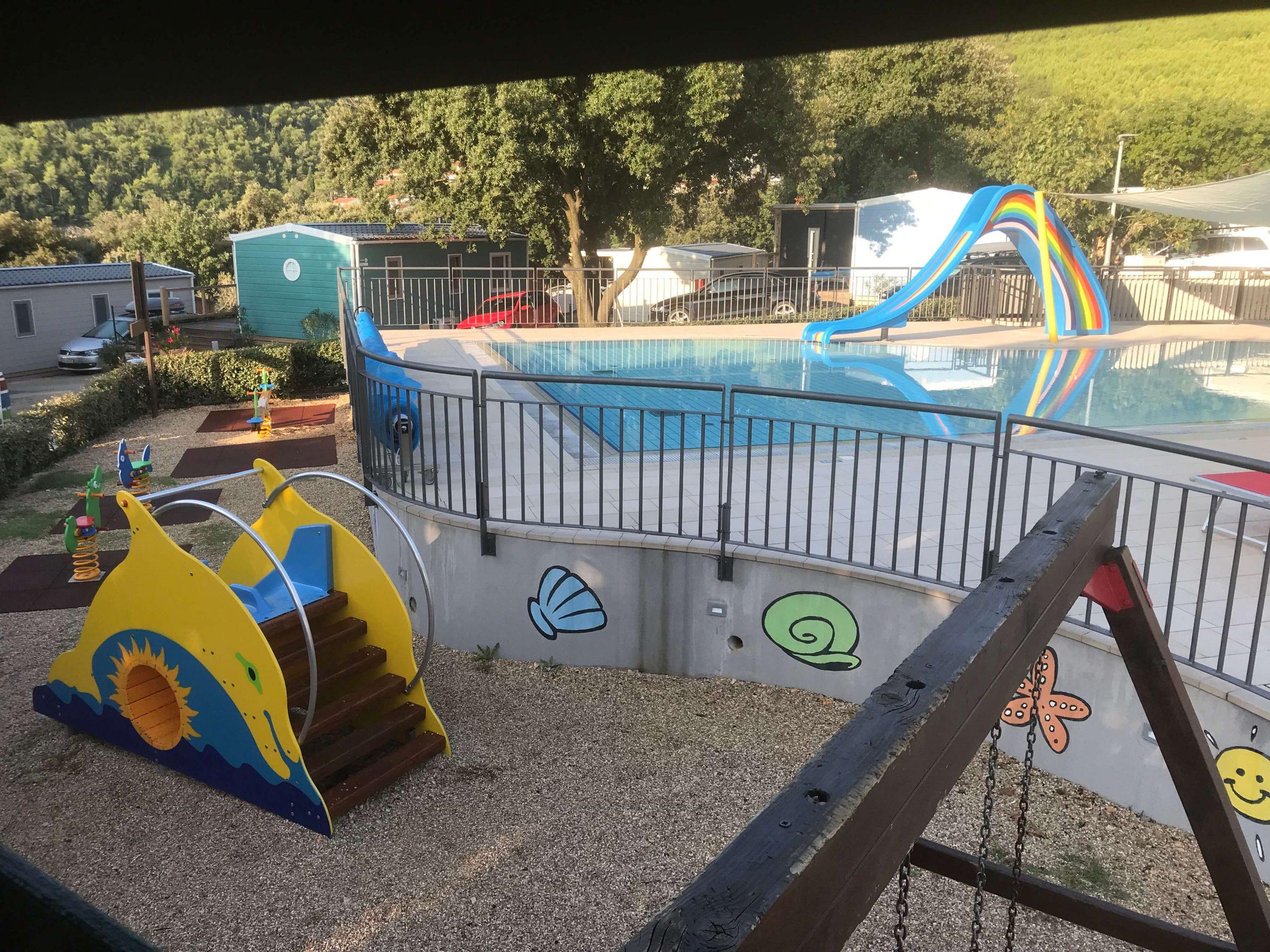 Kinder-Pool und Spielplatz | © Ivonne Wolter