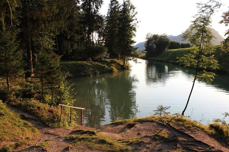 Badestelle am Wildbach | © Ivonne Wolter