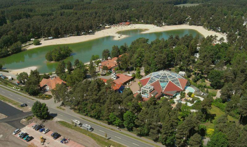 Luftaufnahme vom Seebereich   ©  Südsee-Camp