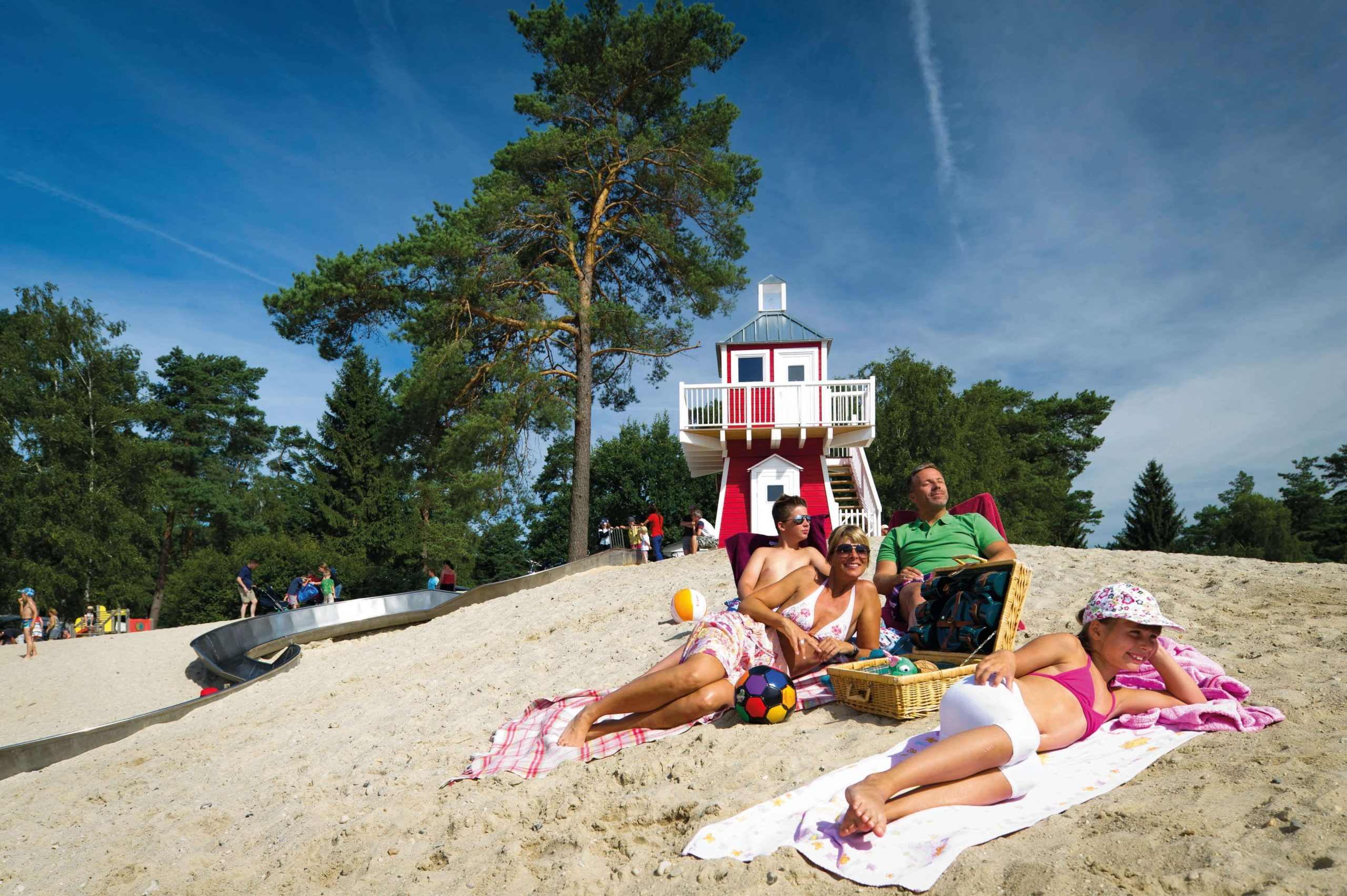 Strand am Badesee   ©  Südsee-Camp