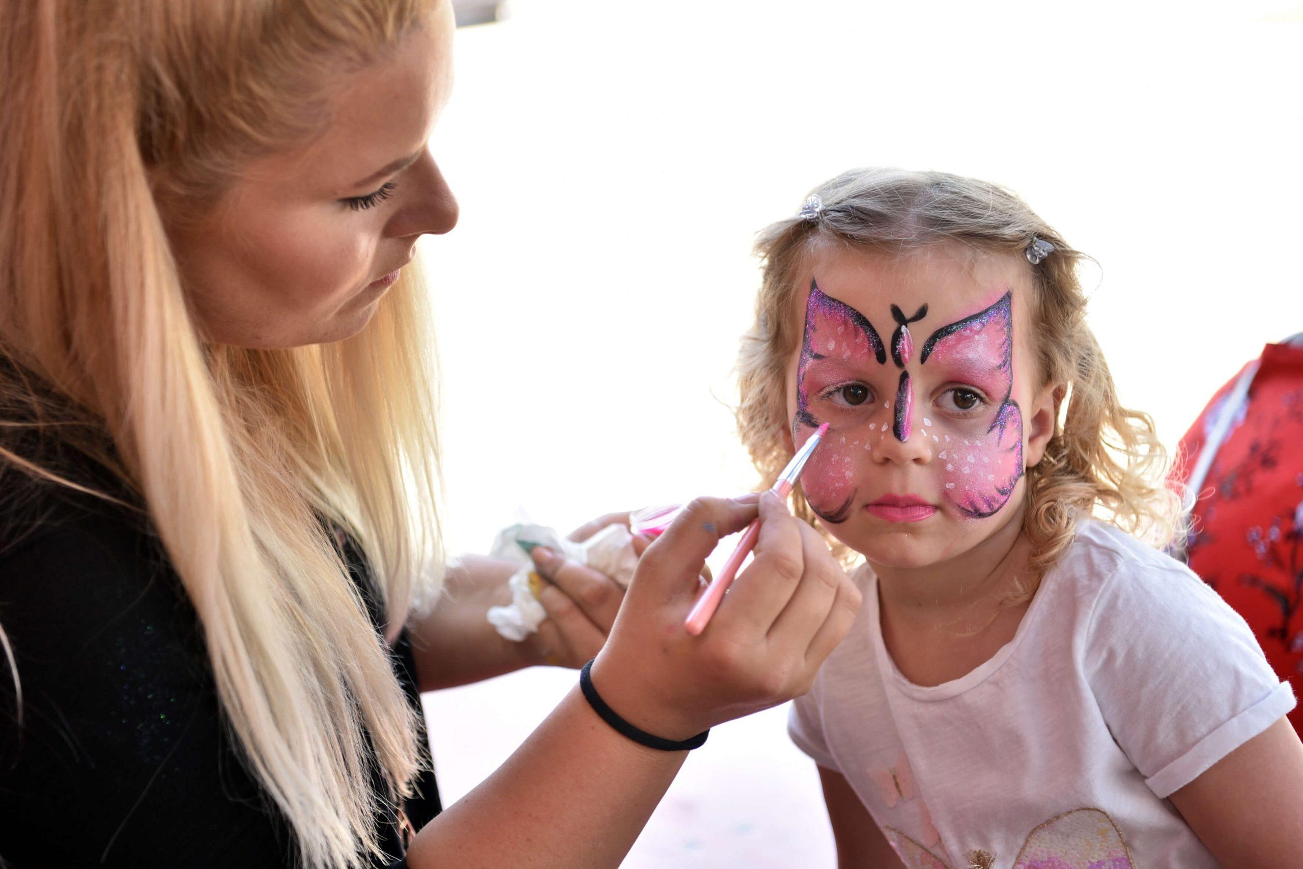 Kinderschminken | © SeeCamping Langlau