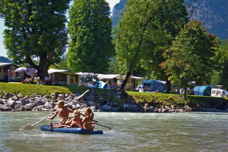 Grubhof Park Camping in St. Martin bei Lofer