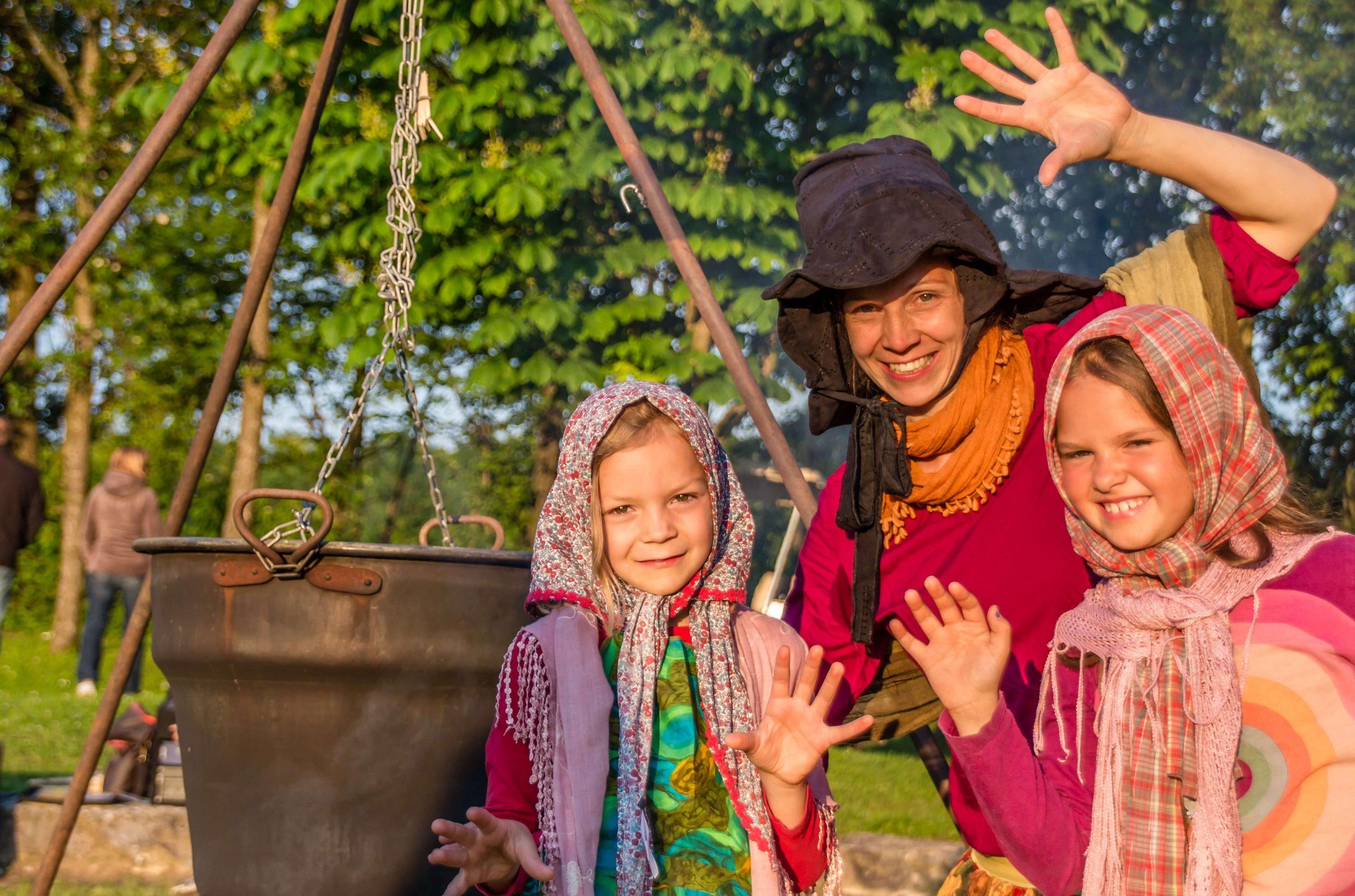 Campingplatz Wirthshof: Hexentanz Kinderanimation | © Wirthshof GmbH