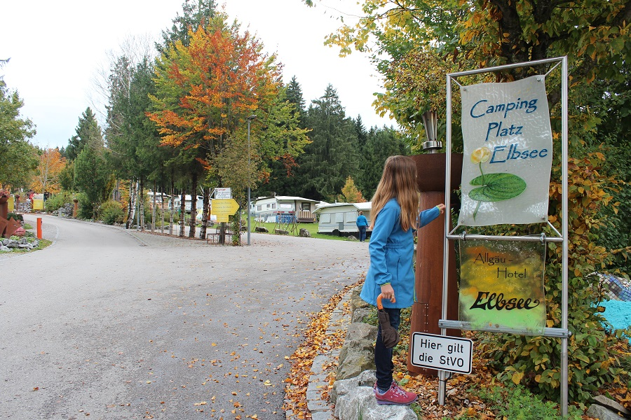 Eingang Campingplatz Elbsee