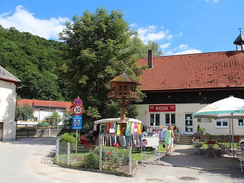 Kiosk vom Campingplatz Kratzmühle
