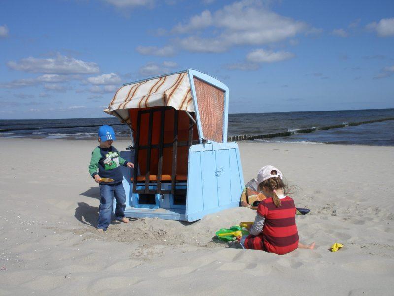 Zelten an der Ostsee mit der ganzen Familie