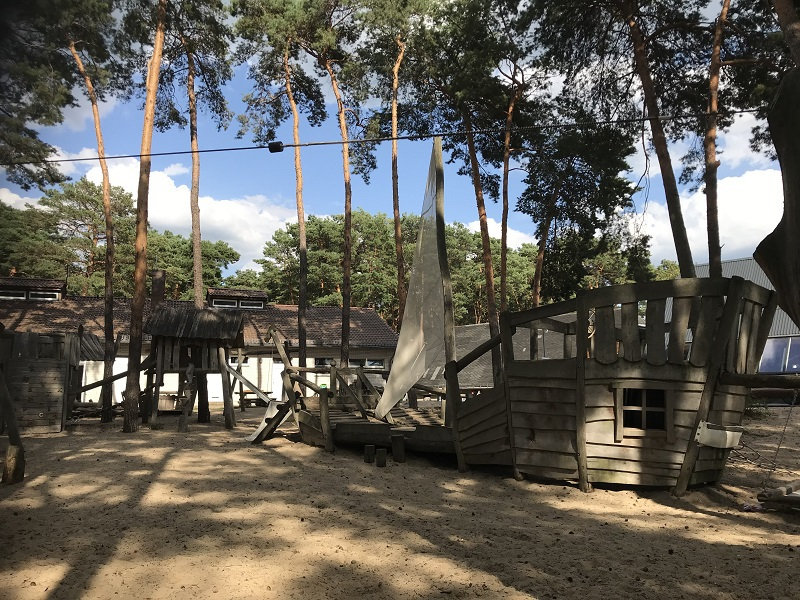 Spielplatz Campingplatz Krossinsee