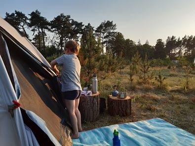 Naturcampingplatz Wilde Heimat in Brandenburg