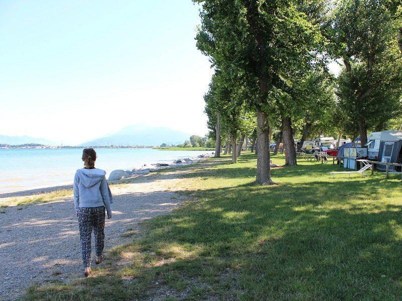 Stellplätze am See Camping Village San Francesco