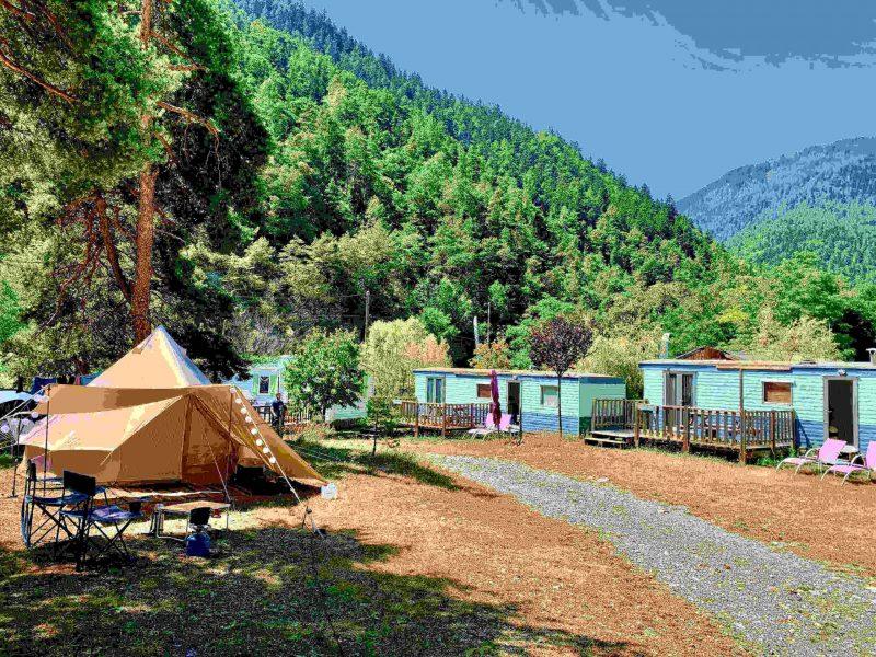 Stellplätze | © camping-river.eu