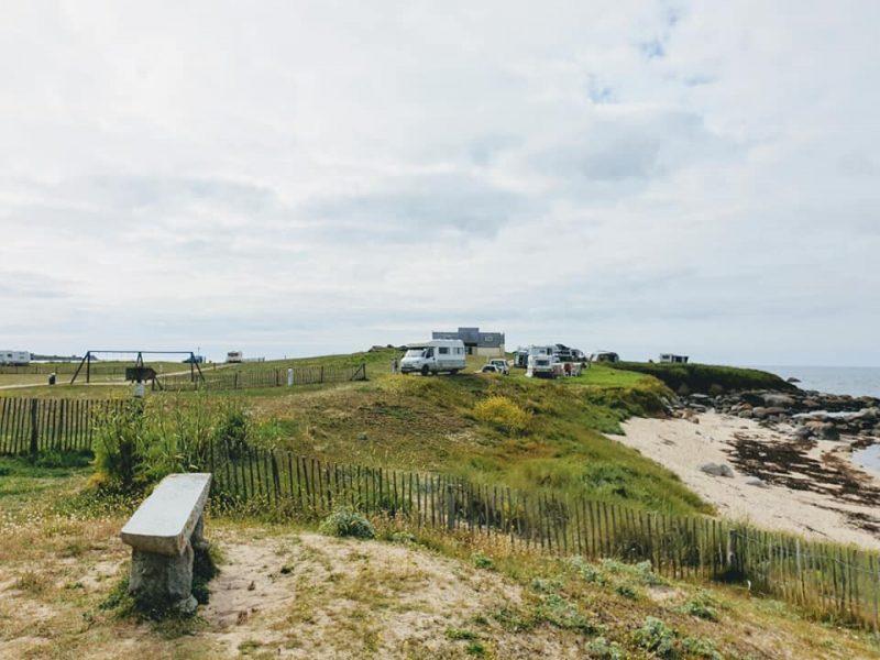 Campingplatz Plouescat in Frankreich