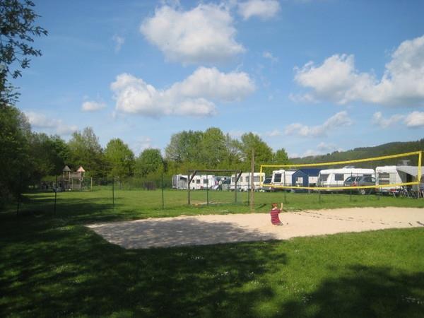 Beach-Volleyball Platz | © Campingplatz Hof Biggen