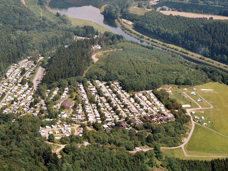 Flugbild   © Campingplatz Hof Biggen