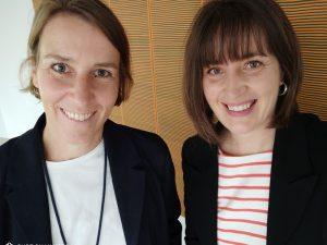 Corinna Weinspach-Stalph und Peggy Schädlich von Ucamping.com