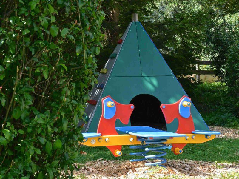 Spielplatz | © Campingplatz Sachsenburg Camping Betriebs GmbH