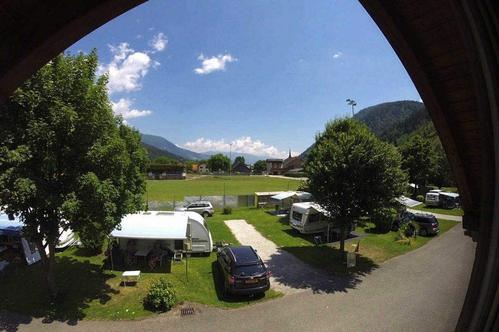 Stellplätze | © Campingplatz Sachsenburg Camping Betriebs GmbH