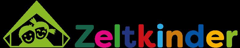 Zeltkinder Logo - Wort und Bild