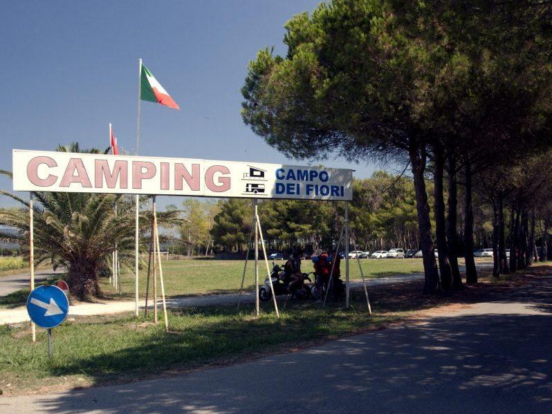 Eingang   © Camping Campo dei Fiori