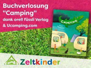 """Buchverlosung """"Camping"""" Die Wimmelgeschichte von Eilika Mühlenberg"""