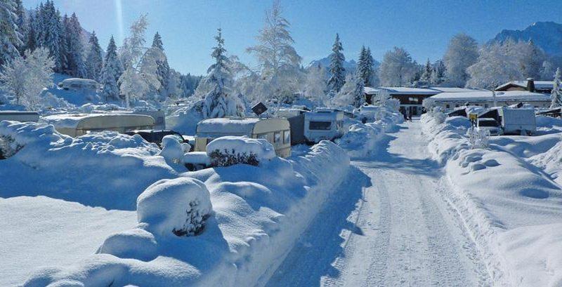 Schneelandschaft | © Alpen-Caravanpark Tennsee