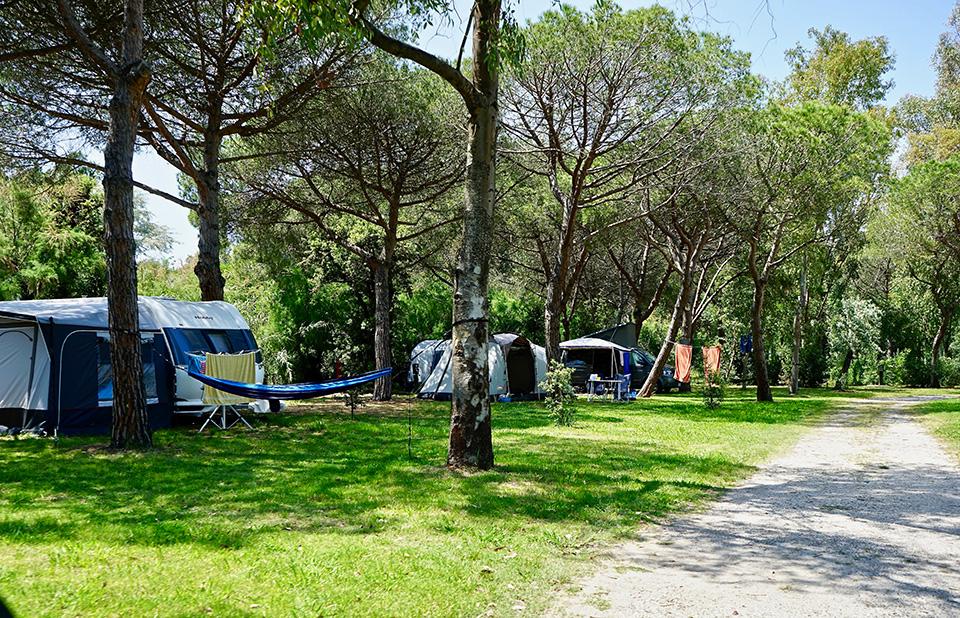 Stellplätze | © Camping Campo dei Fiori