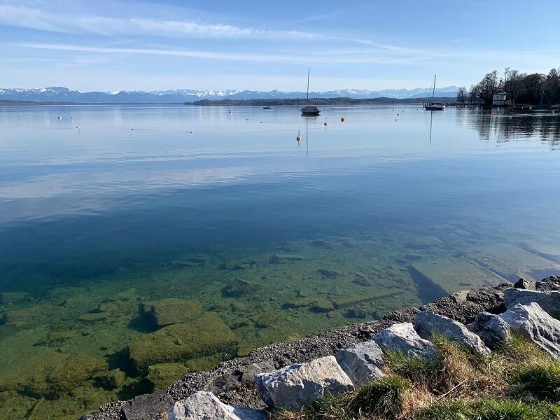 Paddeln auf dem Starnberger See