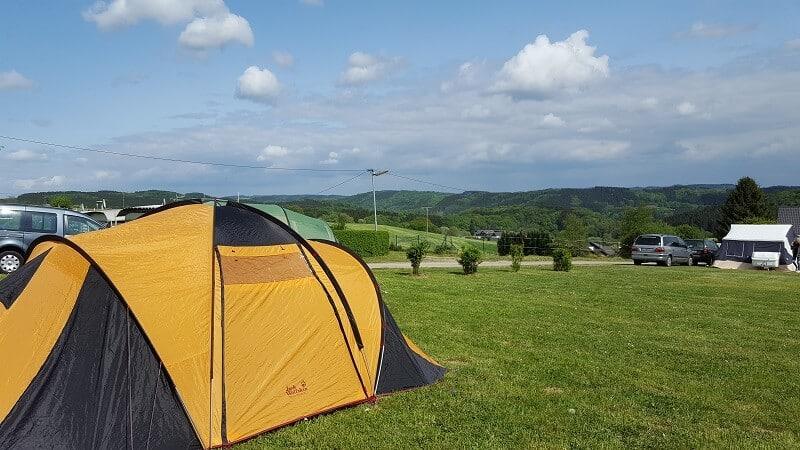 Zelt-Kurzurlaub in NRW zu gewinnen (Beendet)